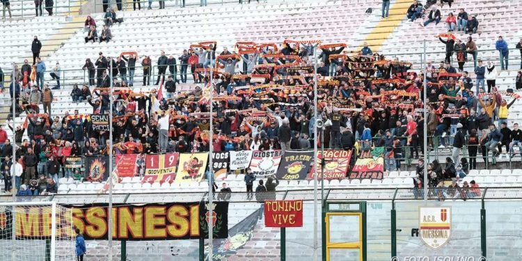 Tifosi ACR Messina ph Isolino ACR Messina