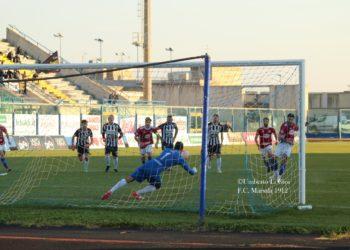 Anatrella rigore vs Marsala ph Umberto Li Gioi Marsala Calcio