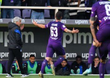 Ph Fiorentina, vs Atalanta gol Cutrone