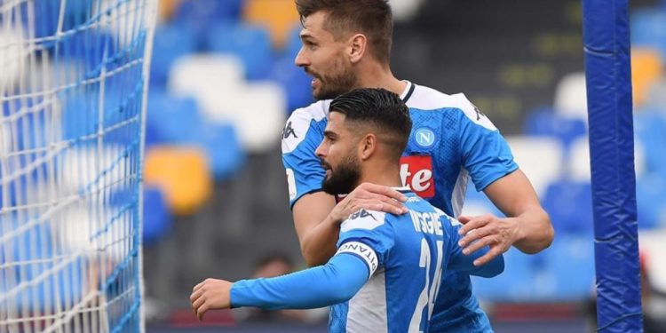Ph SSC Napoli, Insigne gol