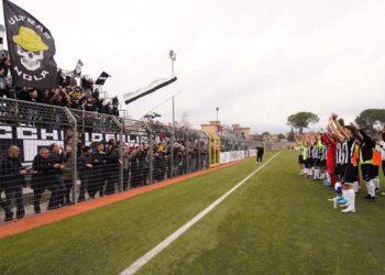 Ph Nola Calcio, tifosi vs Licata