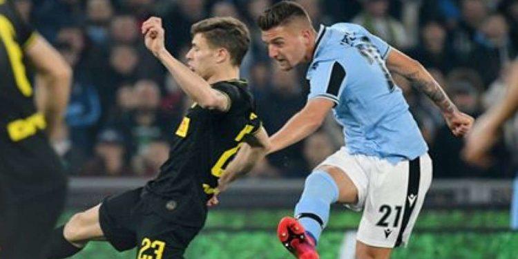 Ph Lazio, Milinkovic Savic vs Inter