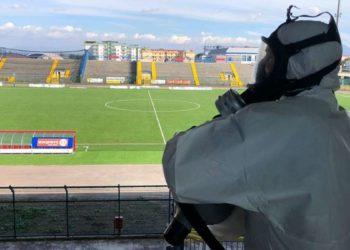 Ph Giugliano Calcio, De Cristofaro sanificato