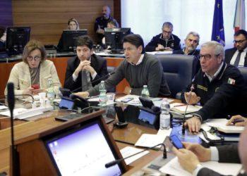 Ph Protezione Civile, Borrelli e Conte