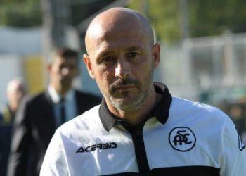 Vincenzo Italiano ph Andreani A.C. Spezia