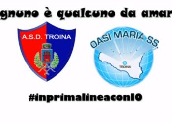Ph Troina Calcio, Iniziativa in favore dell'Oasi