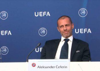 Ceferin, Uefa