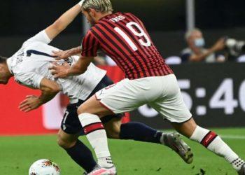 Ph Bologna, vs Milan - Orsolini Theo