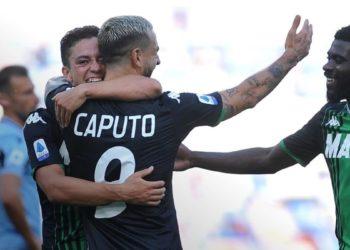 Ph Sassuolo, Caputo vs Lazio