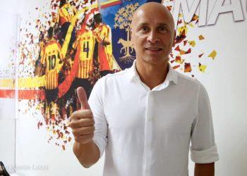 Eugenio Corini ph Anza e Marco Lezzi U.S. Lecce