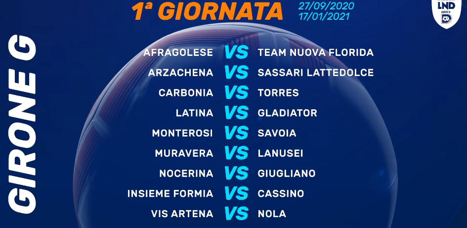 Calendario Serie D Girone G 2020 2021 La LND annuncia i calendari di Serie D, ecco quello completo del