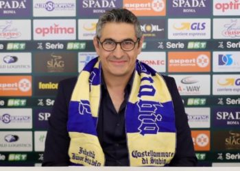 Pasquale Padalino ph Antonio Gargiulo S.S. Juve Stabia