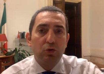Spadafora, Ministro dello Sport