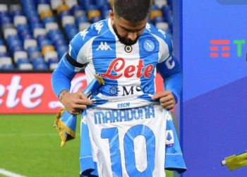 Ph SSC Napoli, Insigne maglia Maradona