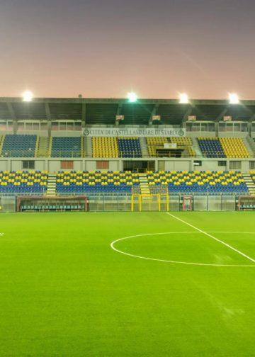 Stadio Romeo Menti ph Comune Castellammare di Stabia