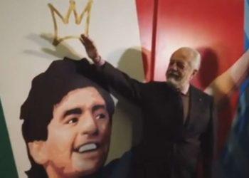 Aurelio De Laurentiis, fermata Stadio Maradona