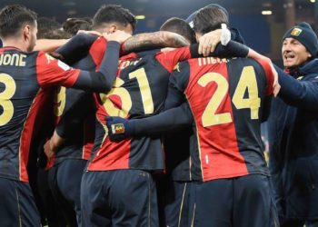 Ph Genoa, festa gol