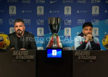 Supercoppa Italiana, Napoli Gattuso Insigne