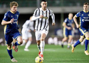 Ph Juventus, Ronaldo vs Verona