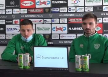 Taurino e Zaccaria ph U.S. Bitonto Calcio