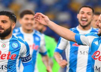 Ph SSC Napoli, Insigne Mertens vs Lazio