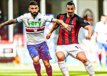 ph AC Milan, Ibrahimovic vs Sampdoria