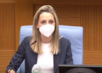 Sottosegretaria con delega allo sport Valentina Vezzali