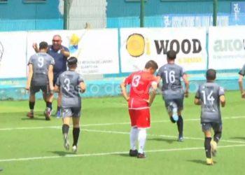 Napoli United Real Forio Evacuo gol