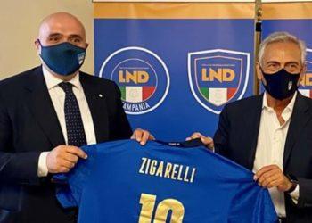 Ph FIGC, Zigarelli e Gravina