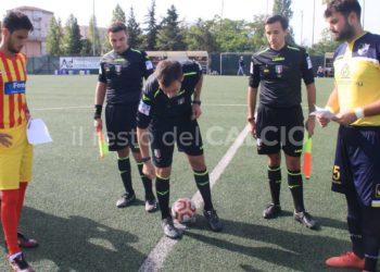 Ph La Ragione Club Ponte-Teano - Arbitro e calciatori