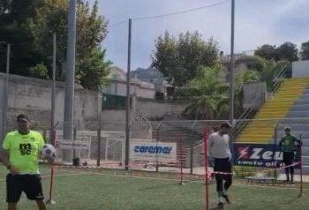 Antonio Mirante allenamenti Sorrento ph Sorrento 1945