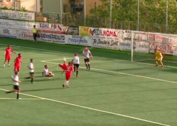 Gol Pavone Turris-Palermo ph Lega Pro