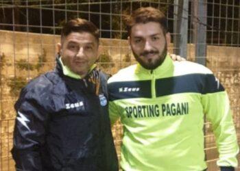 Sporting Pagani, Presidente e Antonio De Maria