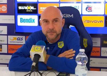 Stefano Sottili allenatore Juve Stabia ph Il Resto del Calcio